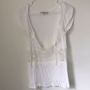For love and lemons swim cover up layering top